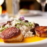 Scallop and Risotto 150x150 - Unique Dining Experience Near These Apartments