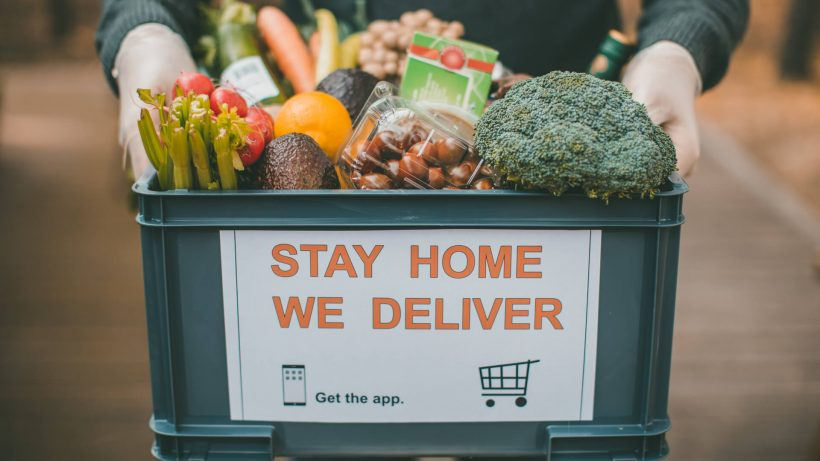 grocery delivery iStock 1214541379 820x461 - Become Lazy With The Best Online Food Delivery In Malaysia