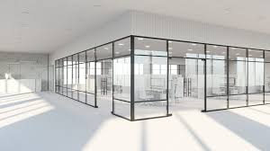 glass partition in office - The Importance Of Glass Partitions