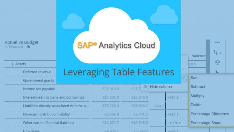 a1 820x461 - Smart Choices And Options With The SAP Analytics